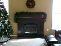 Fireplace Completed Interior