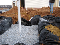 Runoff Pit Construction